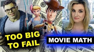 Box Office for Toy Story 4, Avengers Endgame Re Release by Beyond The Trailer