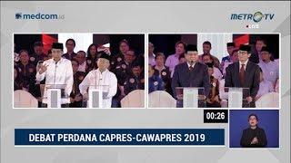 Video Debat Pilpres 2019 Part 6 - Jokowi Buktikan Keberpihakan ke Perempuan dan Penegakan Hukum ke Prabowo MP3, 3GP, MP4, WEBM, AVI, FLV Januari 2019