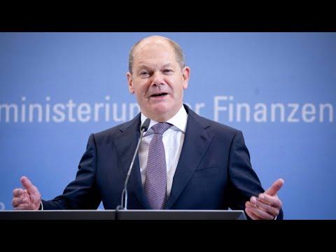 Bundesfinanzminister Scholz: Bund erwartet 6,7 Millia ...