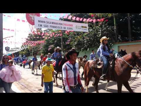 Cavalhadas de São Francisco de Goiás 2013 -FULL HD
