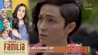 Este viernes en Mi marido tiene familia... Gabrel se decidirá a confesarle su amor a Daniela, Robert sospechará que fue su tía...