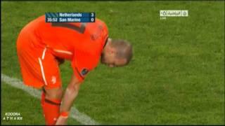 Sneijders super Pass gegen San Marino