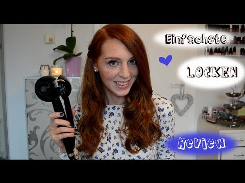BABYLISS PRO THE PERFECT CURLING MACHINE: Miracurl - Tutorial & Review (deutsch)