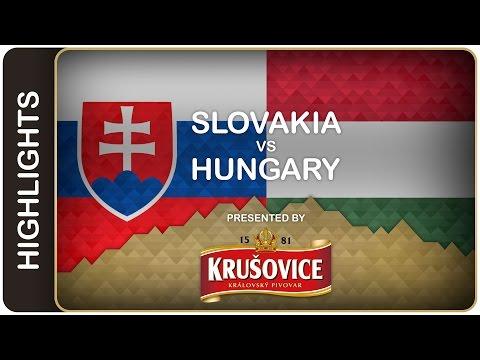 Video : Hokejisté Slovenska porazili Maďarsko 4:1