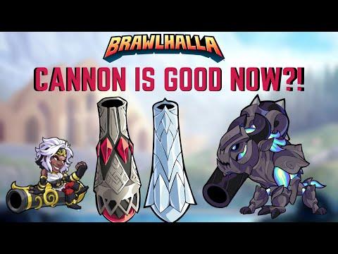 Brawlhalla - Cannon is Amazing?