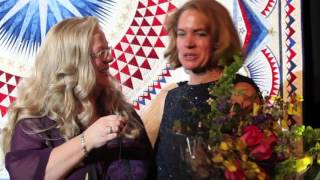 Houston Quilt Festival 2012 - IQA Best of Show - Sherry Reynolds Interview