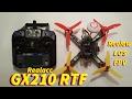 GX210 RTF Review, LOS, FPV, X210 Comparison from Banggood