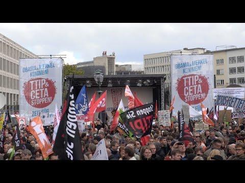 Video - Διαμαρτυρία της Greenpeace κατά της CETA στα γραφεία του ΣΥΡΙΖΑ