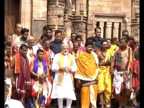 PM Modi's visit to Lingaraj Temple in Bhubaneshwar, Odisha