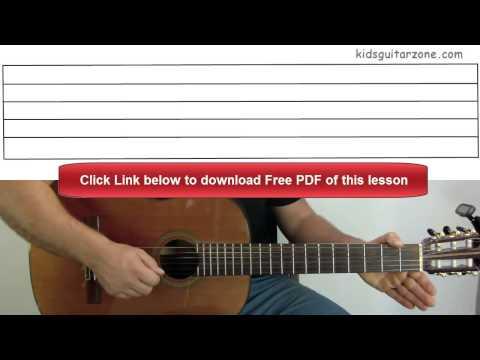 Guitar Lesson 3C: Jingle Bells Chorus