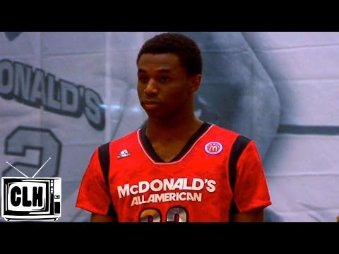 Andrew Wiggins 2013 McDonald's All American Game Highlights