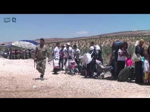 مصر العربية |  استكمال مغادرة السوريين إلى بلادهم عبر