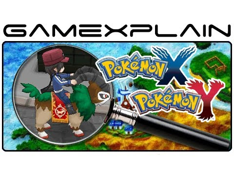 Pokemon - http://www.GameXplain.com Join us as we uncover the secrets of the latest gameplay trailer, screenshots, and the world map for Pokémon X & Pokémon Y! We expl...