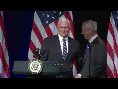 Pence says 'time has come' to create US Space Force