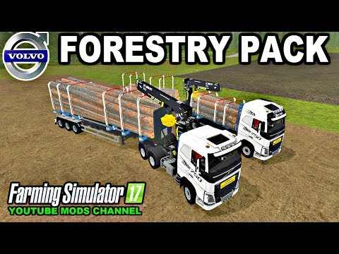 Volvo FH16 Woodpack v1.0.0