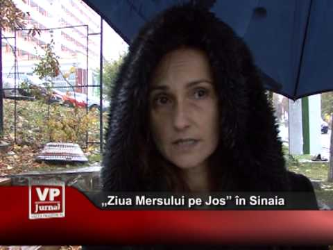 """""""Ziua Mersului pe Jos"""" în Sinaia"""