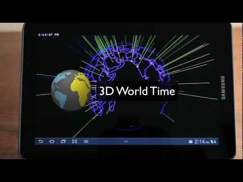 Video of 3D World Time