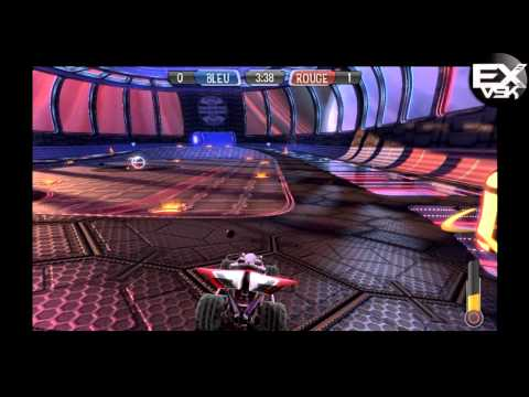 Supersonic Acrobatic Rocket-Powered Battle-Cars - DF97two , Kamikazdu74 & Adams !