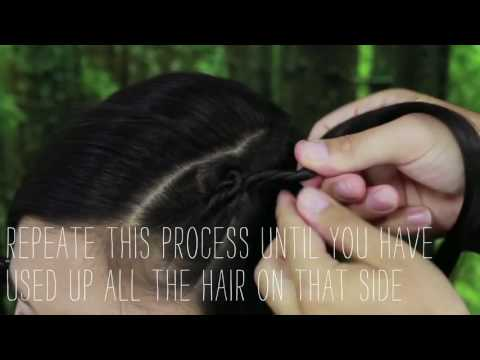 How to Create a Twisted Faux Undercut ¦ Josh Denholm ¦ Layered