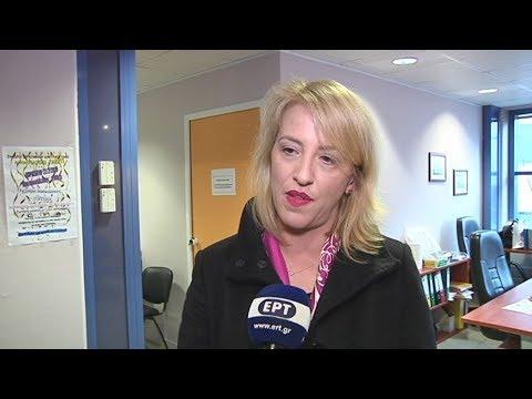 Η περιφερειάρχης Αττικής, Ρένα Δούρου στο κοινωνικό παντοπωλείο του Δήμου Νέας Ιωνίας