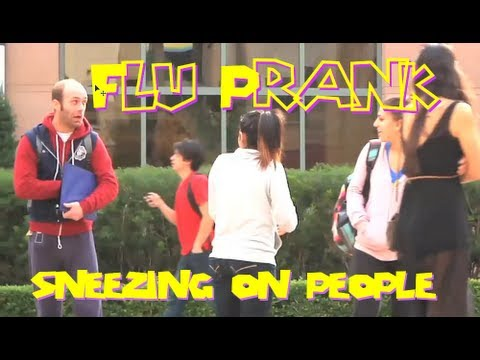 Nathan Barnatt - Sneezing On People Prank