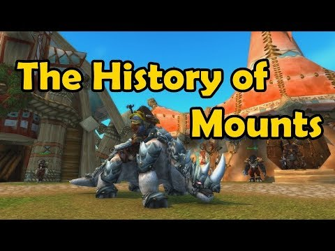 The History of Mounts in Game - WCmini Facts (видео)