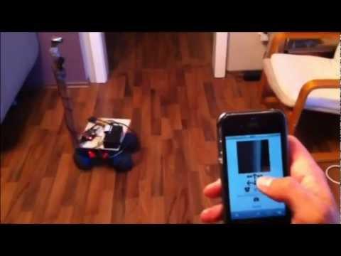 Raspberry Pi Remote-Car mit Webcam und W-Lan