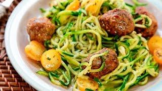 """Cómo hacer """"espagueti"""" de calabacitas"""