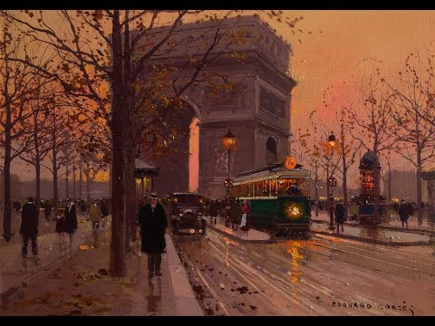 3 Hours Of Once Upon A Time In Paris - Erik Satie [HD]
