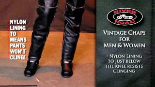River Road Vintage Chaps for Men and Women
