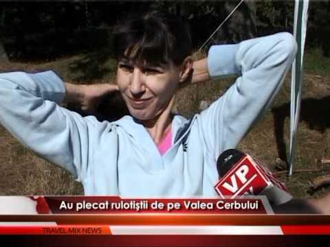 Rulotiştii de pe Valea Cerbului – VIDEO
