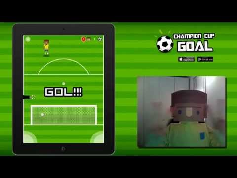 Champion Cup Goal – Selfie gameplay
