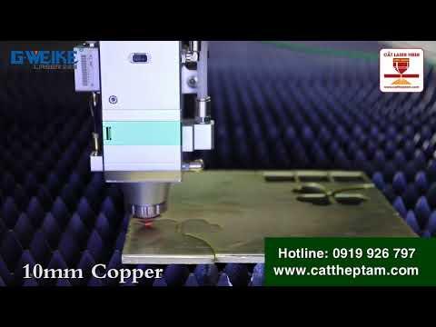 Cắt Laser Fiber Tấm Kim Loại bằng công nghệ mới nhất