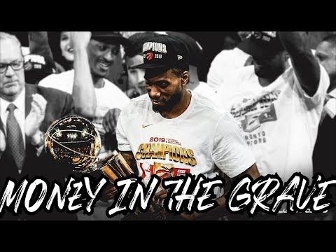 "Kawhi Leonard Mix ""Money in the Grave"" (JOURNEY) ᴴᴰ видео"
