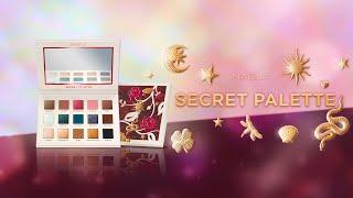 NABLA SECRET PALETTE + 4 INSPIRATIONAL LOOKS (ENG SUB)