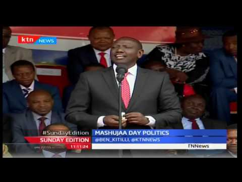 Sunday Edition: Analyzing Mashujaa Day politics and Governance Summit, 23rd October 2016 Part 3