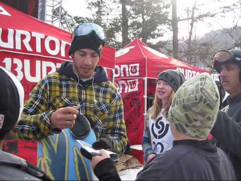 US Snowboarding Open - After the 2010 US Open Halfpipe Comp we caught up with some athletes for brief comments. Peetu Piiroinen, TTR Winner for the 2nd year in a row, Kazuhiro Koku...