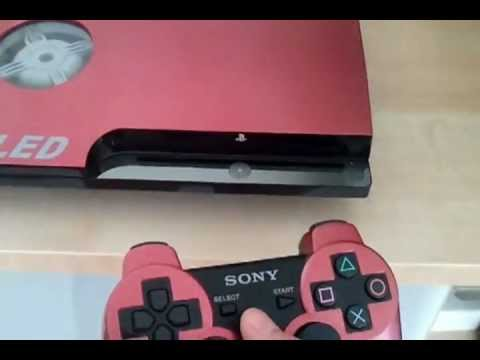 Ps3 Slim Cover and Led Mod by Tense