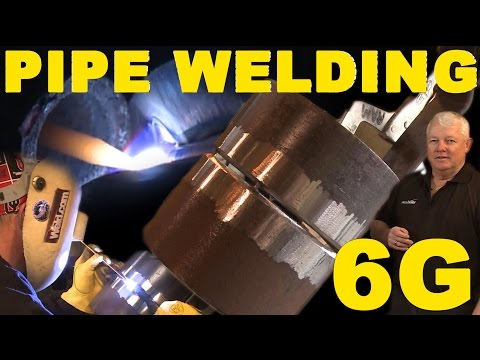 TIG Welding 6G Pipe Root Pass | TIG Time