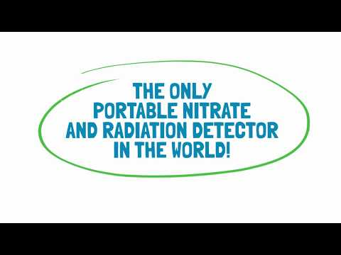 Greatest Portable Nitrate, Water and Radiation Detector