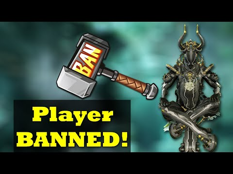 Warframe Bans Another Player For No Good Reason | Please Stop Doing This DE