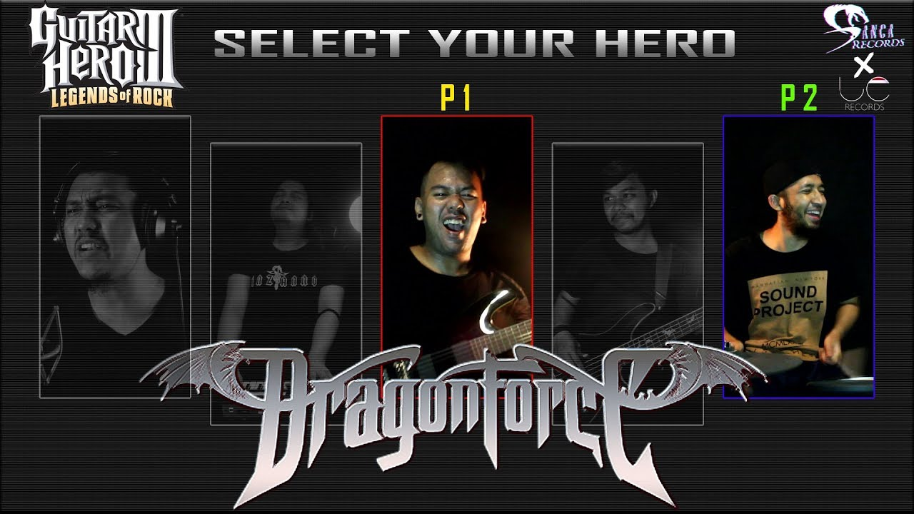 Dragon Force – Through The Fire And Flames (Guitar Hero III) Cover by Sanca Records ft. LC Records