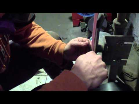 Knife Making Tip - Grinding The Knife Post Heat Treat