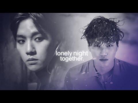 kaibaek; lonely night together.