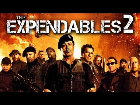 morally repugnant actions - The Expendables 2 (2012) -- Unfeeling violence, but wildly enjoyable, 7/10. Full episodes of Movie Night, every Friday night at: http://bit.ly/JogJPMN ~~ M...