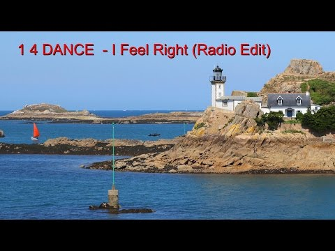 """1 4 DANCE - I Feel Right (Radio Edit) (Official Music Video) (""""One for Dance"""") видео"""