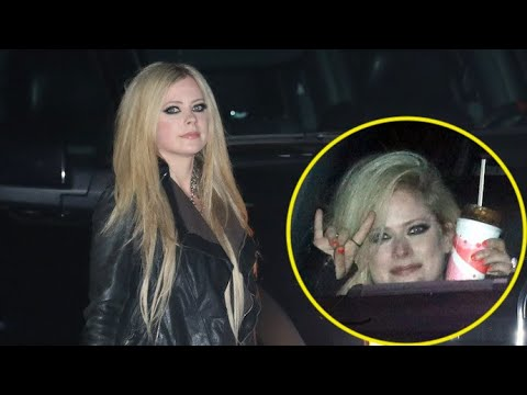Avril Lavigne Is Craving Fast Food After Partying At Soho