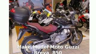 7. Moto Guzzi Breva 850 - Review, Walkaround
