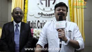 Madhan Bob at Arulappass Hotel Launch