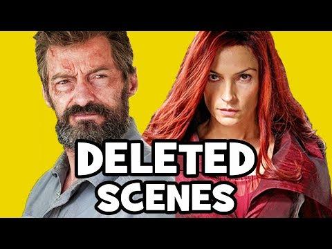 Logan DELETED SCENES & Rejected Concepts